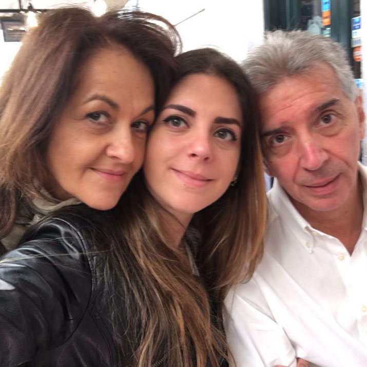 Mara, Francy e Carlo