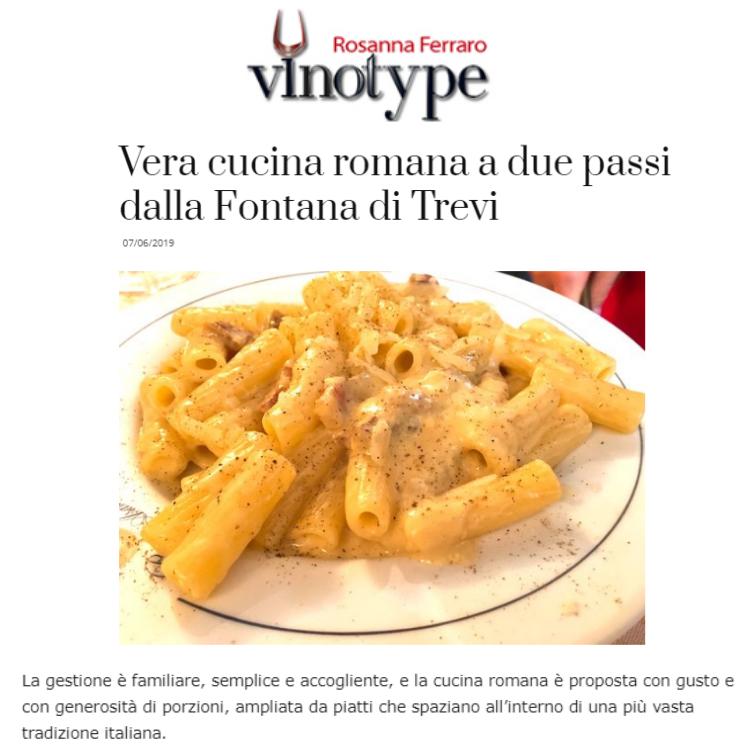 Rosanna Ferraro vinotype